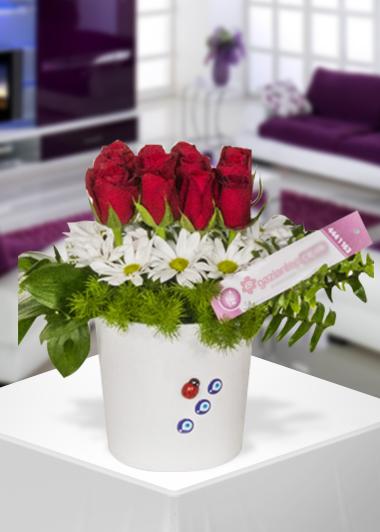 12 Gül-35 Gaziantep Çiçek Sepeti Siparişi