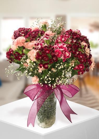 Renkli Bahar Gaziantep Çiçek Sepeti Siparişi