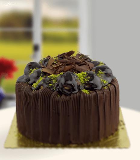 Çikolata Soslu Pasta - Gaziantep Pasta Siparişi Gaziantep Çiçekciler
