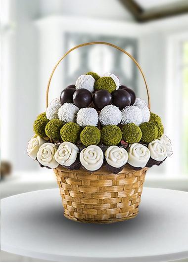 Çilekli Çikolata  Gaziantep Çiçekciler