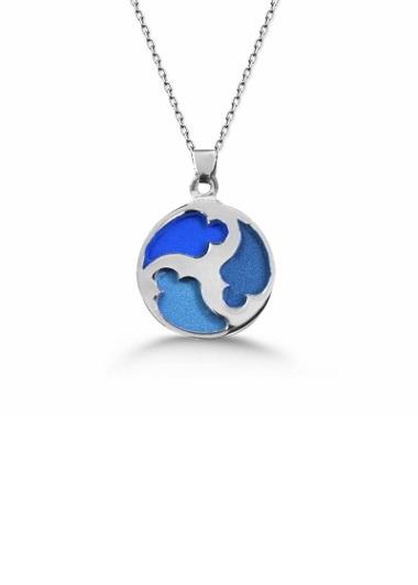 Dünyam Gümüş Kolyesi Gaziantep Çiçek Sepeti Siparişi