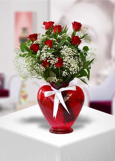 Aşk Dolu Kalbim Senin-52 Gaziantep Çiçek Sepeti Siparişi