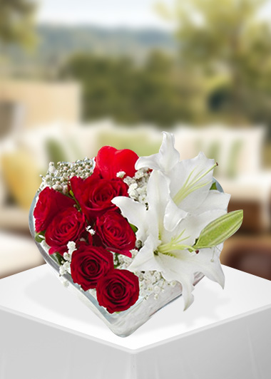 Kalbimin Diğer Yarısı-7 Gaziantep Çiçek Sepeti Siparişi