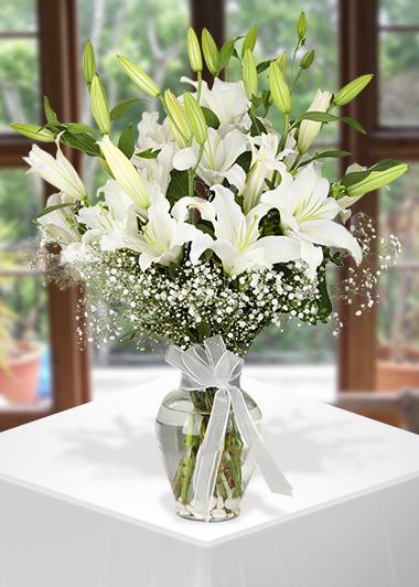 Kar Beyaz-24 Gaziantep Çiçek Sepeti Siparişi