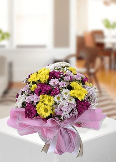 Mevsim Buketi-37 Gaziantep Çiçek Sepeti Siparişi