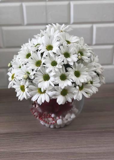 Papatya Küresi Gaziantep Çiçekciler