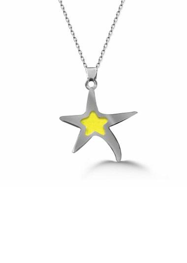 Yıldızım Sensin Gümüş Kolyesi Gaziantep Çiçek Sepeti Siparişi